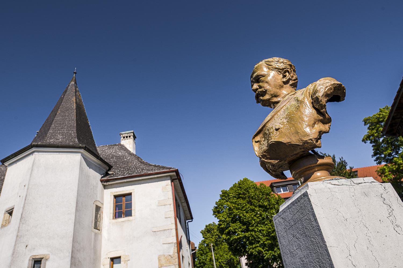 Le buste de Folletête – Le Noirmont