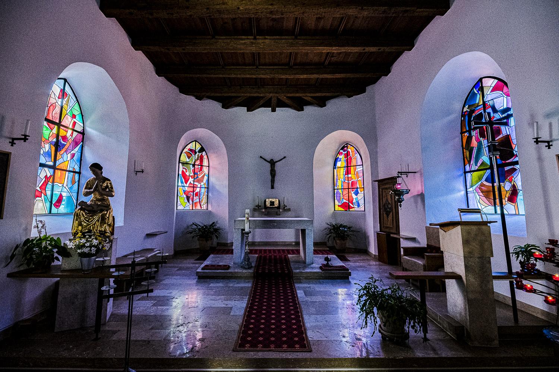 Eglise St-Valbert et vitraux de Coghuf – Soubey
