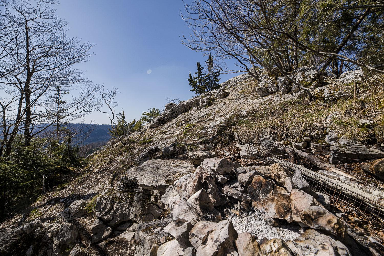 Le rocher de l'aigle – Le Cerneux-Godat