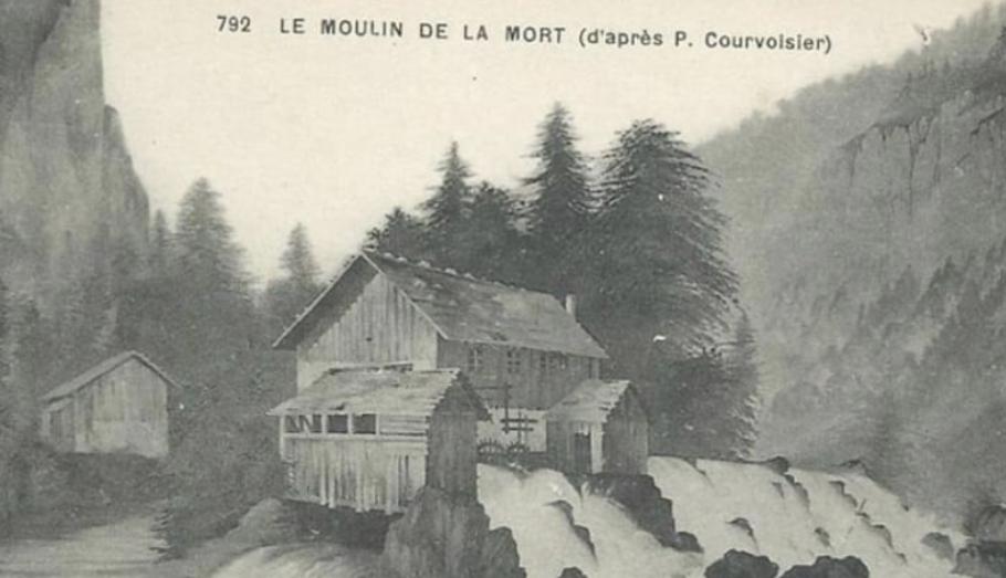 Le moulin de la Mort (ruines) – Les Bois