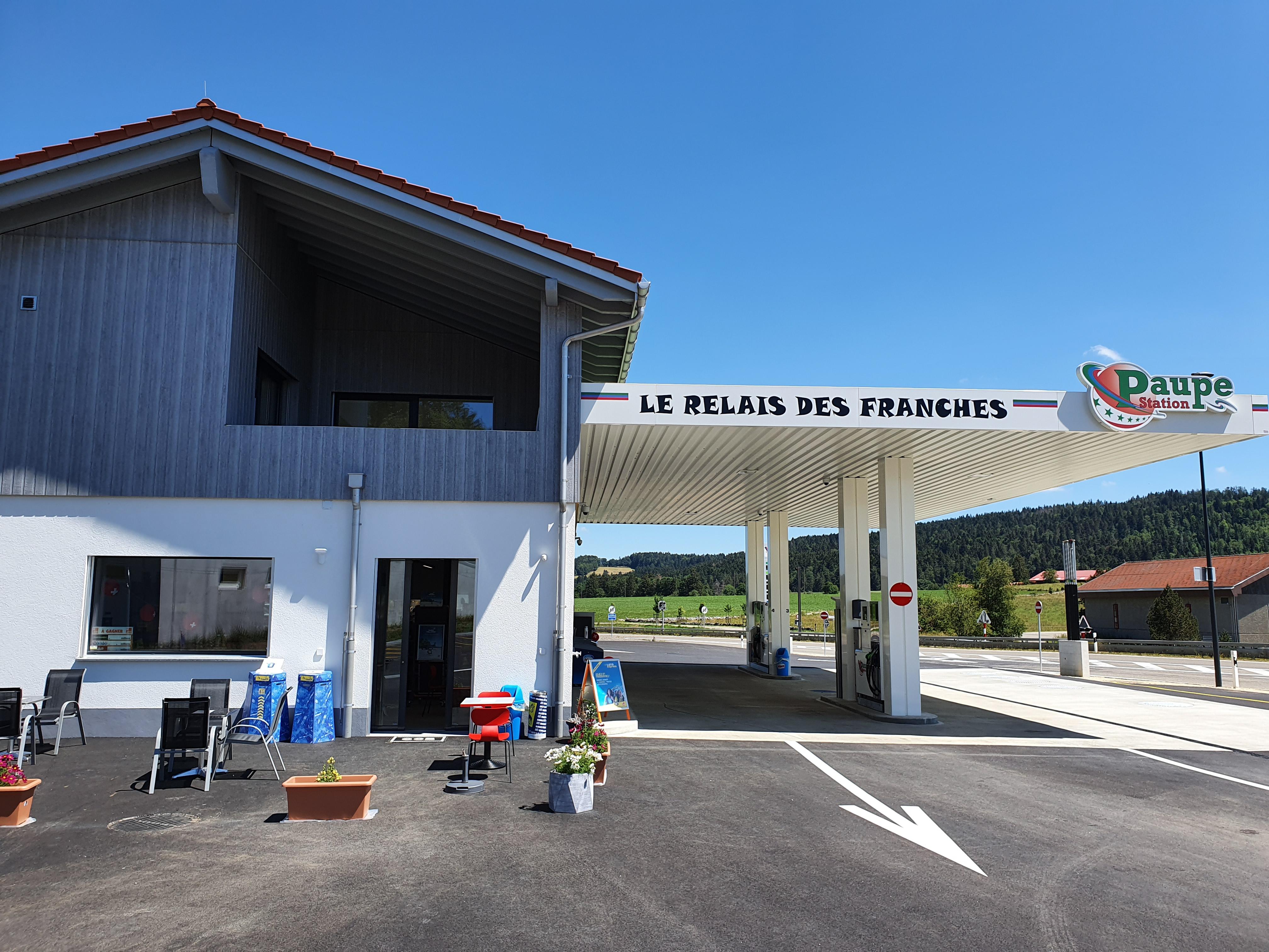 Le Relais des Franches / Station Paupe – Le Noirmont