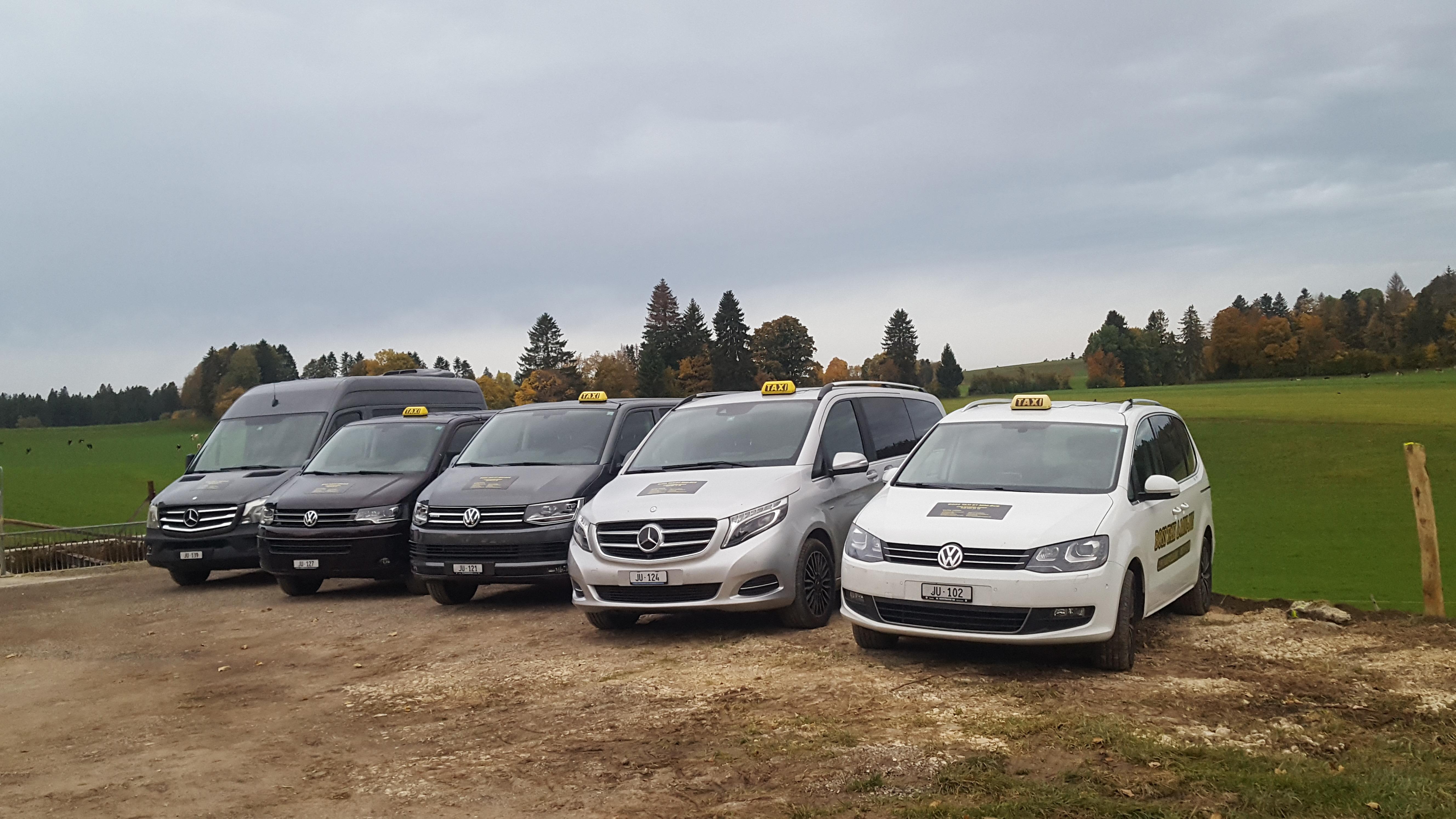 Boss Taxi et Minibus Sàrl- Saignelégier