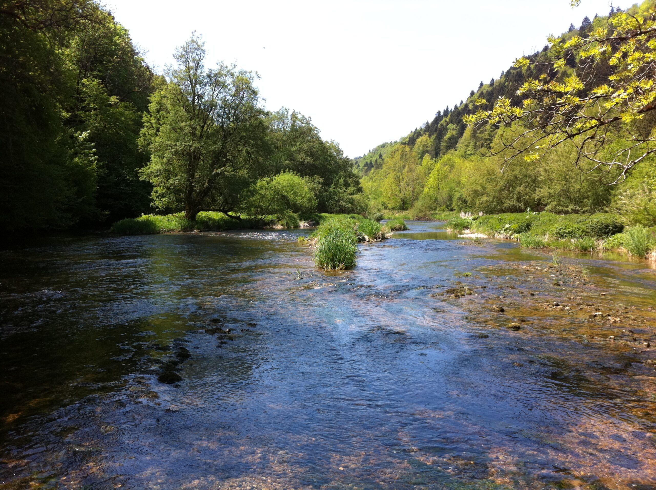 Pêche sur le Doubs – Le long du Doubs